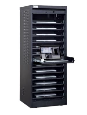 Data storage cabinet for home page widget